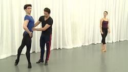 From Carlos Lopez's Dancio ballet class.