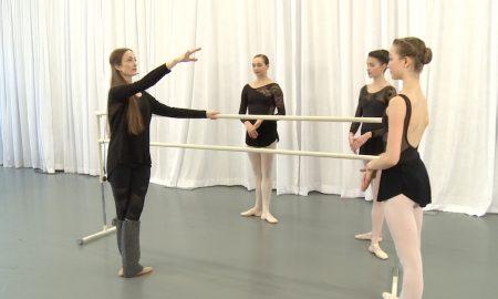 From Julie Kent's Dancio ballet class.