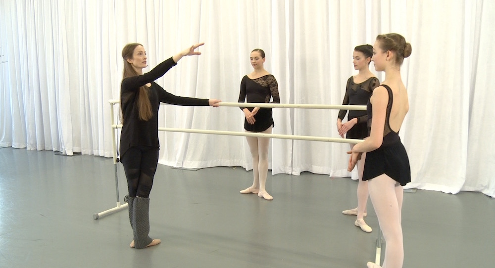 From Julie Kent's Dancio ballet class.