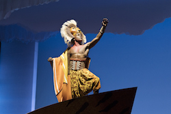 Gerald Caesar as Simba in 'The Lion King' North American Tour. ©Disney. Photo by Deen van Meer.