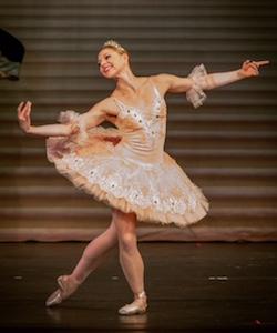 Lauren Fadeley in 'The Sleeping Beauty'. Photo by R.L. Furlong.
