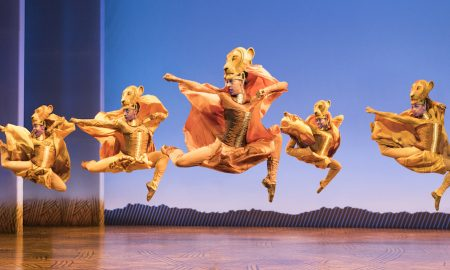 Lionesses Dance in 'The Lion King' North American Tour. ©Disney. Photo by Deen van Meer.