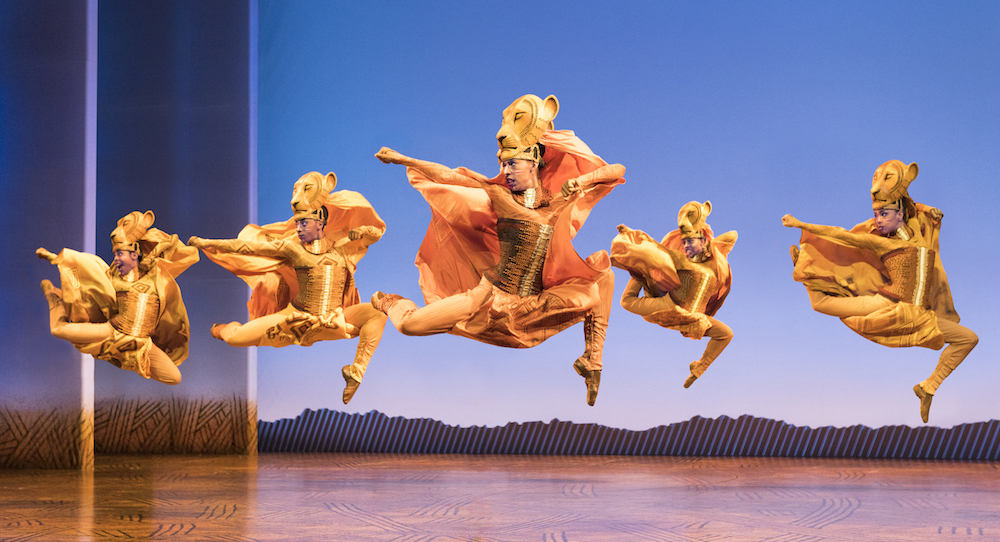 Lionesses Dance in 'The Lion King' North American Tour. ©Disney. Photo by Deen van Meer.