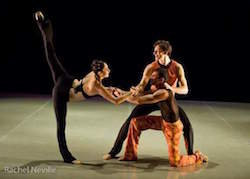 Ursula Verduzco (left) in Benjamin Briones' 'Zavavy'. Photo by Rachel Neville.