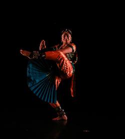 Deepa Srinath's 'A Padam and a Thillana'. Photo by Olivia Blaisdell.