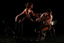 Kristin Wagner and Tony Guglietti in 'fold'. Photo by Olivia Blaisdell.