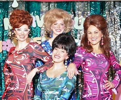 The Marvelous Wonderettes cast. Photo courtesy of Alhambra Theatre & Dining.