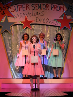 The Marvelous Wonderettes. Photo courtesy of Alhambra Theatre & Dining.