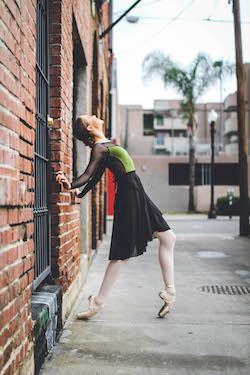 Aviva Gelfer-Mundl for Audition Dancewear. Photo by Simplybella Photography.