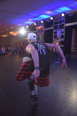 Brian Friedman. Photo by Eliza Britney at Radix Dance Convention.