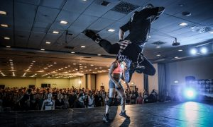 Brian Friedman. Photo courtesy of WHES Dance Convention.