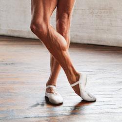 James Whiteside in Capezio's MR ballet shoe. Photo courtesy of Capezio.