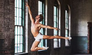 James Whiteside. Photo courtesy of Capezio.