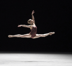 Olivia Yoch in Craig Davidson's 'Remembrance:Hereafter'. Photo by Gene Schiavone.