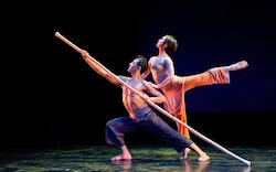 Saki Masuda with Nai-Ni Chen Dance Company. Photo by Joseph Wagner.