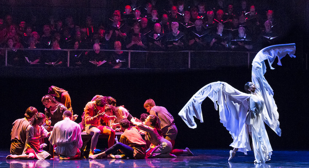 State Street Ballet in 'Carmina Burana'. Photo by David Bazemore.
