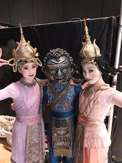 Yuki Ozeki (right) as Topsy in the ballet scene of 'The King and I'. Photo courtesy of Ozeki.