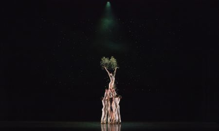 Atlanta Ballet in Tara Lee's 'blink'. Photo by Kim Kenney.
