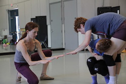Gabrielle Lamb at the National Choreographers Initiative. Photo by Ty Parmenter.