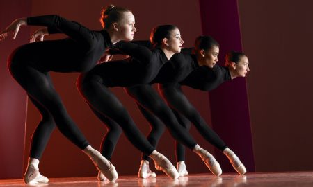 José Mateo Ballet Theatre in 'House of Ballet'. Photo by Gary Sloan.