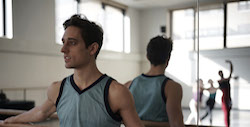 Justin Peck in 'BALLET 422', a Magnolia Pictures release. Photo courtesy of Magnolia Pictures.