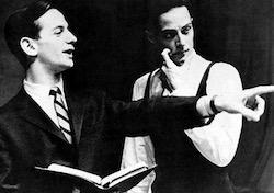 Robert Joffrey and Gerald Arpino. Photo by Jim Howell.
