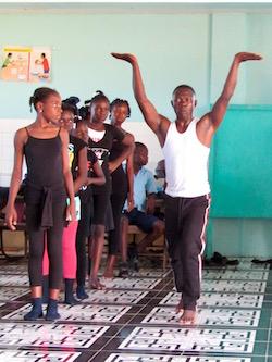 Broadway's Babies' program in Haiti. Photo by Katy Pfaffl.