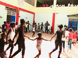 Broadway's Babies' program in Haiti. Photo by Katy Pfaffl.
