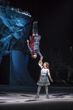 Cirque du Soleil's 'Crystal: A breakthrough ice experience'. Photo by Matt Beard, courtesy of Cirque du Soleil 2018.