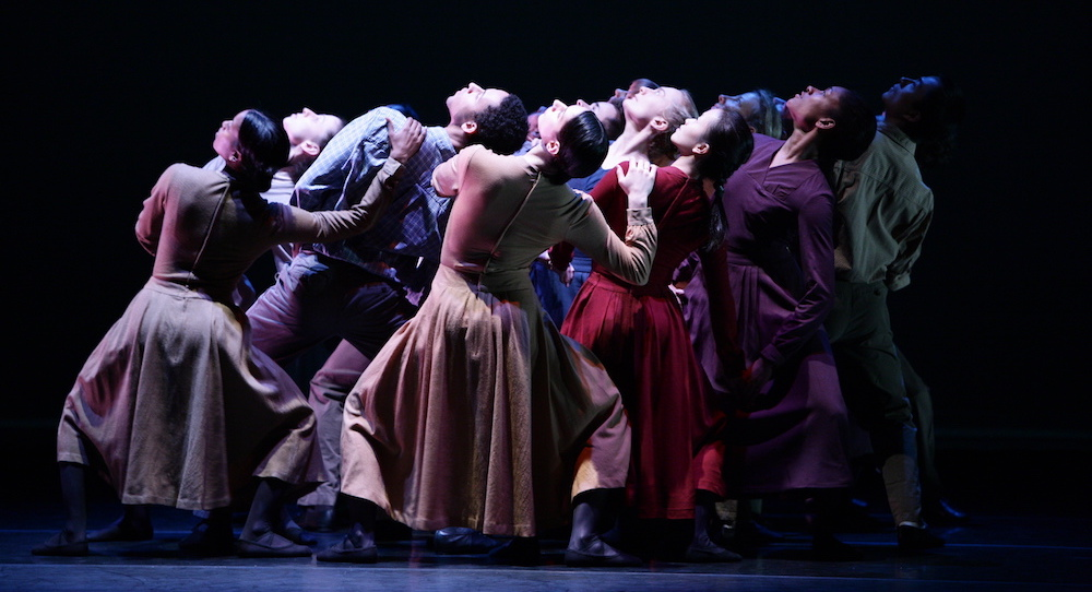 The Limón Dance Company in 'Missa Brevis'. Photo by Scott Groller.