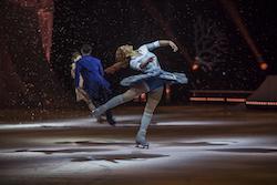 Nobahar Dadui in Cirque du Soleil's 'Crystal: A breakthrough ice experience'. Photo by Matt Beard, courtesy of Cirque du Soleil 2018.