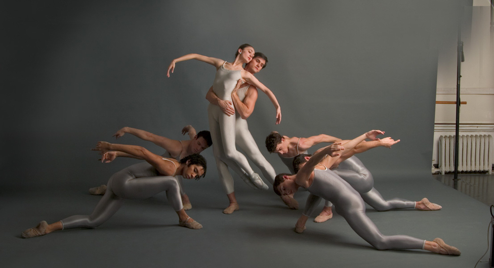 The Joffrey Ballet in 'Round of Angels'. Photo by Herbert Migdoll.