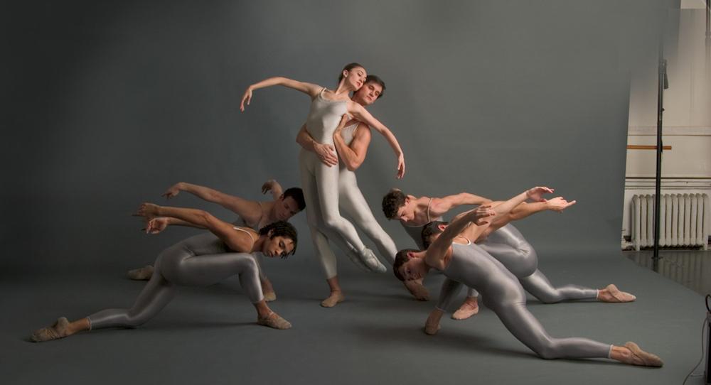 The Joffrey Ballet in 'Round of Angels'. Photo by Herbert Migdoll.
