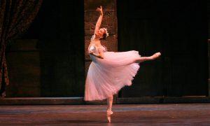 Karine Seneca in August Bournonville's 'La Sylphide'. Photo by Sabi Varga, courtesy of Boston Ballet.