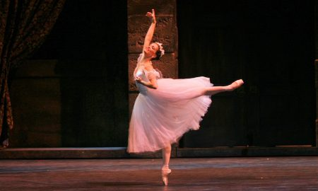 Karine Seneca in August Bournonville's 'La Sylphide'. Photo by Sabi Varga, courtesy of Boston Ballet.