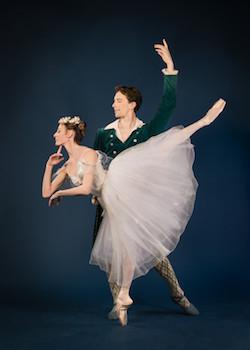 Patrick Yocum and Anaïs Chalendard in Bournonville's 'La Sylphide'. Photo by Liza Voll, courtesy of Boston Ballet.