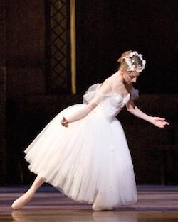 Larissa Ponomarenko in August Bournonville's 'La Sylphide'. Photo by Angela Sterling, courtesy of Boston Ballet.