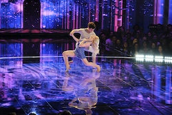 'World of Dance' Qualifiers Charity and Andres. Photo by Justin Lubin/NBC.