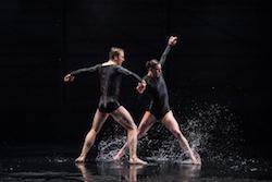 BalletMet's Grace-Anne Powers and Michael Sayre in Edwaard Liang's 'Airavata'. Photo by Jennifer Zmuda.
