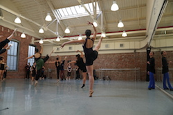 Kate Loh's ballet class at Peridance Capezio Center. Photo courtesy of Peridance.