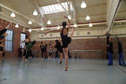 Kate Loh's ballet class at Peridance Capezio Center. Photo courtesy of Peridance.