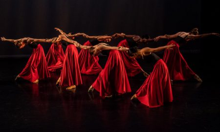 Lydia Johnson Dance in 'Undercurrent'. Photo by Dmitry Beryozkin.