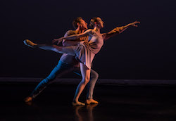 Stephen Hanna and Dona Wiley in Lydia Johnson Dance's 'This, and my heart beside...'. Photo by Dmitry Beryozkin.