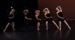 Lydia Johnson Dance in 'Trio Sonatas'. Photo by Dmitry Beryozkin.
