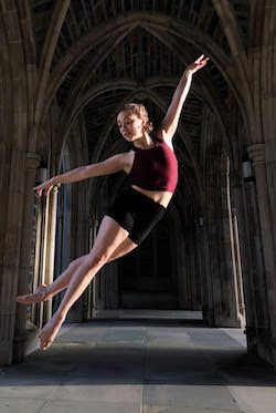 Long2 Philadelphia dancer Molly Hawkins. Photo by Natalie Marshall.