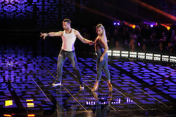 'World of Dance' Qualifiers Pasha and Danielle. Photo by Justin Lubin/NBC.