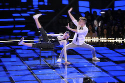 'World of Dance' Qualifiers Josh and Taylor. Photo by Justin Lubin/NBC.