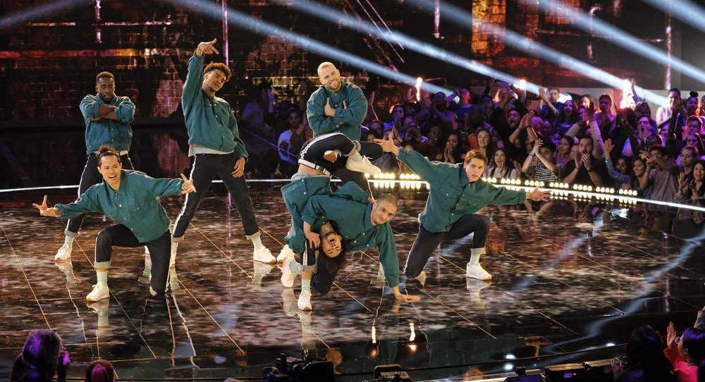 'World of Dance' Qualifiers The Ruggeds. Photo by Justin Lubin/NBC.