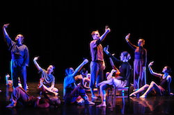 Yonder Dance Company's 'IRL'. Photo by Mark Barry.