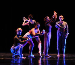 Yonder Dance Company in 'IRL'. Photo by Mark Barry.